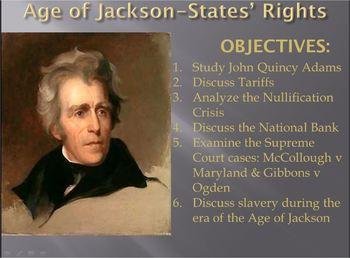 JACKSON-PowerPoint Lesson 2(7th U.S. President)Nullificati