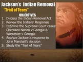 JACKSON-PowerPoint Lesson 3(7th U.S. President)Trail of Tears/Westward Expansion
