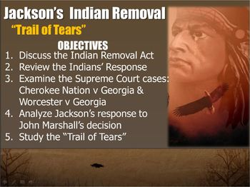 JACKSON-PowerPoint Lesson 3(7th U.S. President)Trail of Te