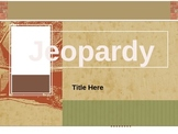 PowerPoint Jeopardy Template - Country Style