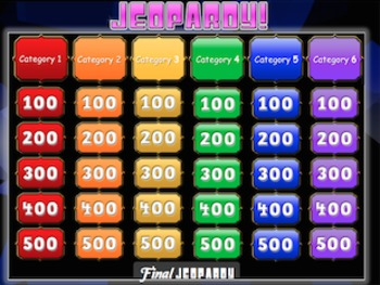 PowerPoint Jeopardy game Template for ALL Subjects!