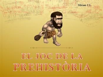 PowerPoint Joc de la Prehistòria en valencià