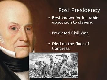PowerPoint: John Quincy Adams