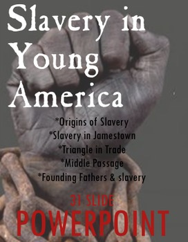 Slavery in Young America ~ PowerPoint & Keynote