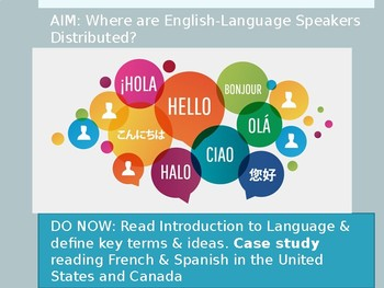 PowerPoint Language Unit