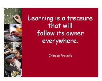 PowerPoint - Learning Quotes