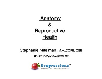 Sex Ed PowerPoint Lecture Series: Anatomy