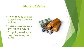 PowerPoint Lecture on Money