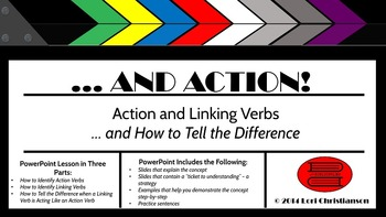 Action and Linking Verbs...and How to Tell the Difference