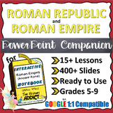 PowerPoint Lesson Companions for the Roman Republic & Roma