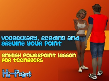 PowerPoint Lesson Pre-Intermediate ESL / EFL Phrases: Arguing Your Point of View