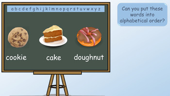 PowerPoint Lesson on Alphabetical Order