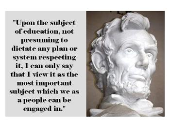 PowerPoint - Lincoln Memorial and Quotes