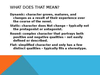 PowerPoint Literary elements