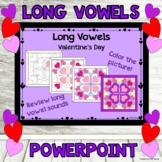 PowerPoint Game Long Vowels Valentine's Day