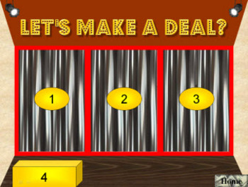 PowerPoint Make a Deal Quiz Show