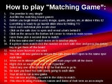 PowerPoint Matching Game
