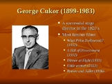 PowerPoint My Fair Lady George Cukor