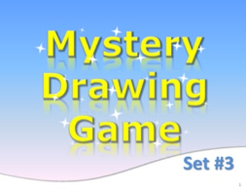 PowerPoint Mystery Drawing Game Set 3 Jaws Elementary Fun
