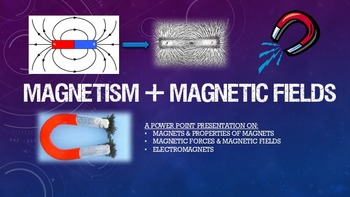 PowerPoint Notes - Magnets, Magnetism & Magnetic Fields