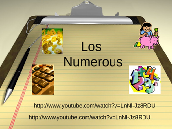 PowerPoint Numbers 1-20 English/Spanish
