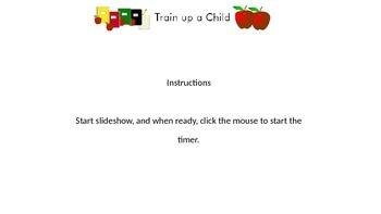 PowerPoint - One-minute timer (slider)