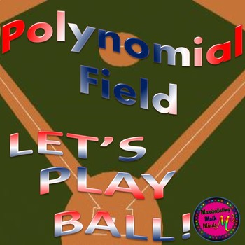 PowerPoint Polynomial Baseball themed review game