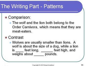 PowerPoint Presentation - Compare and Contrast Activity