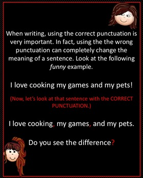PowerPoint Presentation Fun and Interactive Punctuation Review