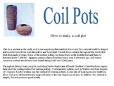 PowerPoint Presentation How to make a Coil Pot
