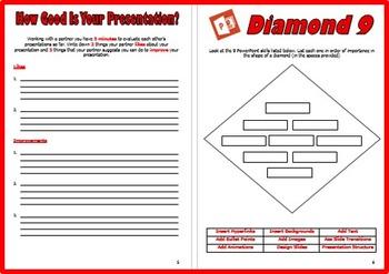 PowerPoint Presentation Project Planning Work Book