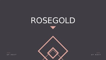 PowerPoint Presentation - RoseGold - Fully Customizable