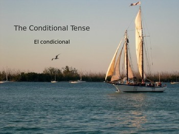 PowerPoint Presentation: Spanish Conditional Tense