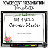 PowerPoint Presentation Template | Farmhouse Theme
