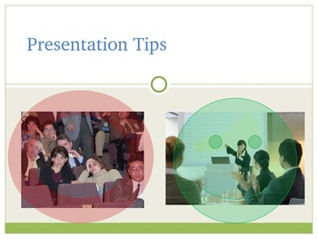 Tips on How to Give a Good PowerPoint Presentation
