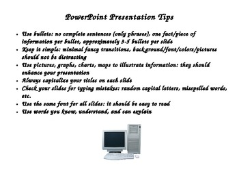 PowerPoint Presentation Tips for Students