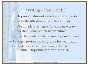 PowerPoint Presentation: Writing a Descriptive Paragraph
