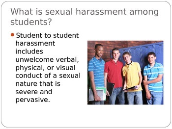 harassment presentation sexual powerpoint