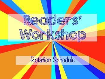 PowerPoint Presentation for Reader's Workshop Rotations