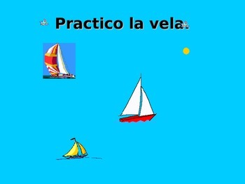 Spanish Teaching Resources. PowerPoint Presentation of Sports with Practicar