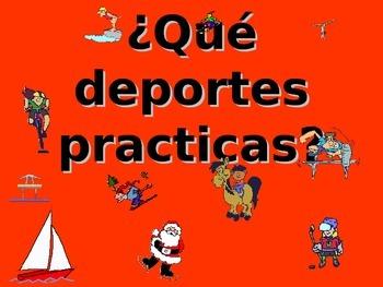 Spanish Teaching Resources. PowerPoint Presentation of Spo
