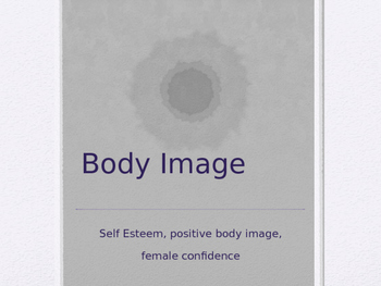 PowerPoint Presentation on Body Image