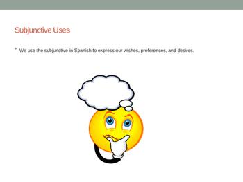 PowerPoint Presentation on Irregular Present Subjunctive with Ójala.