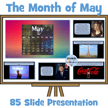 PowerPoint Presentation on the Month of May