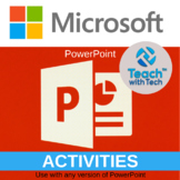 PowerPoint Presentations That Students Create (7 Fun Themes) Activities