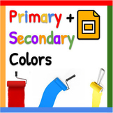 PowerPoint: Primary & Secondary Color Butterfly Art Lesson