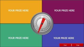 PowerPoint Prize Wheel