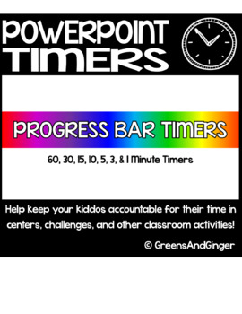 PowerPoint Progress Bar Timers