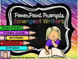 PowerPoint Prompts - Emergent Writers