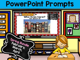 PowerPoint Prompts - Spring Bundle